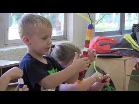 Arts integration at Early Childhood Education Center