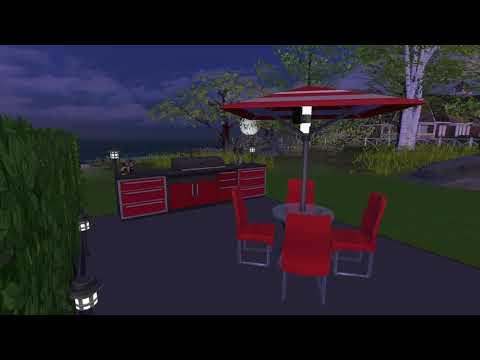 Perfect Patio Stuff Build - Sims 4 Speed Build |
