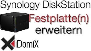 Synology DiskStation Festplatten erweitern