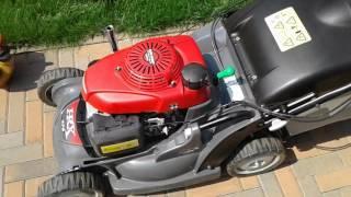 видео Газонокосилки Honda (Хонда) бензиновые самоходные и электрические