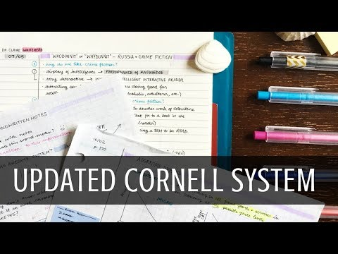 How to take Cornell notes - YouTube