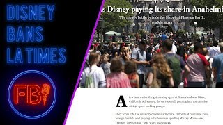 Did Disney go too far with LA Times ban?