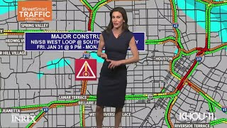 Major closure planned for Houston's 610 West Loop - you've been warned