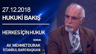 """Hukuki Bakış """"Herkes İçin Hukuk"""" - 27.11.2018 - Medya24 Tv & Prodüksiyon"""