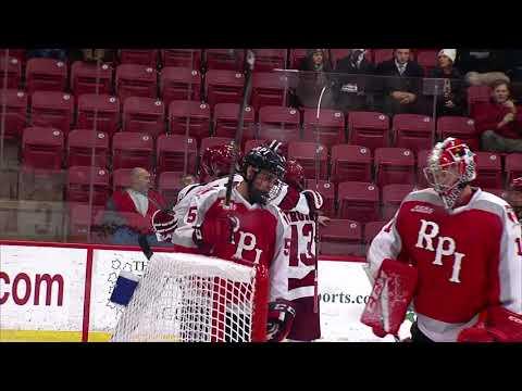 Recap: Harvard Men's Ice Hockey vs. RPI - Jan. 5, 2018