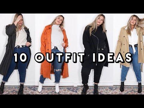 10 Early Winter Outfit Ideas | Plus Size Lookbook. http://bit.ly/2KBtGmj