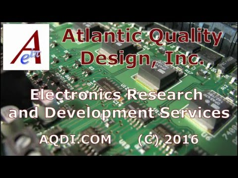 Introduction to Atlantic Quality Design, Inc. Design Services