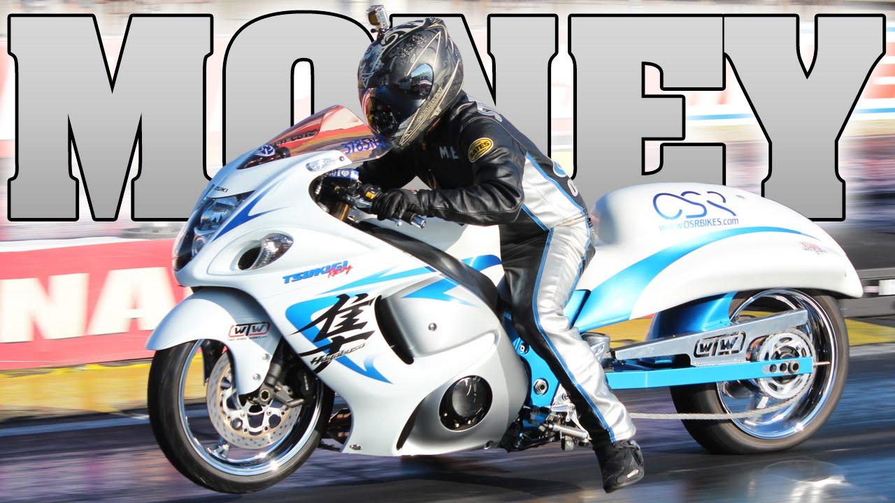 Money Mike Nitrous Suzuki Hayabusa Grudge Bike 2014 Youtube