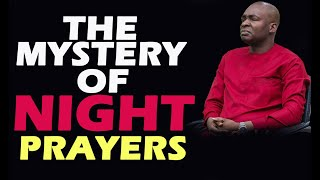 Gambar cover THE MYSTERY OF NIGHT PRAYERS APOSTLE JOSHUA SELMAN NIMMAK