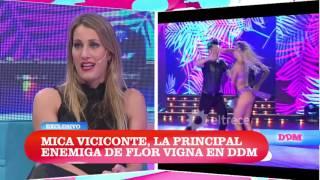 Mica Viciconte habló de su enemiga Flor Vigna