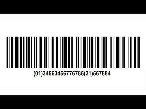 GS1-128 Barcode Creation