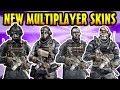 COD Ghosts: Keegan, Merrick, Elias & Hesh Multiplayer Skin Gameplay! (Campaign Character DLC Pack)