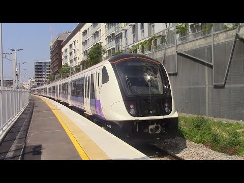 TFL Rail Class 345's first day of passenger service on the Great Western Main Line 21/5/18