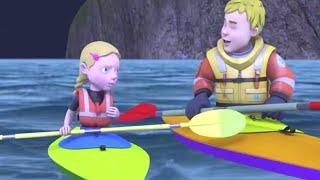 Sam il Pompiere Italiano 🌟Nuovi episodi 🌟Bloccato in mare!🔥Cartoni animati