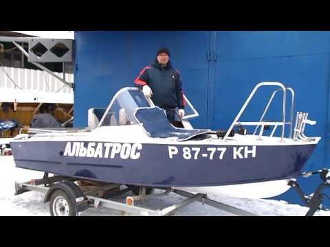 Тюнинг мотолодки Прогресс 2М под рыбалку