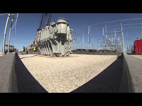 SPL - Setting transformer to pad via crane