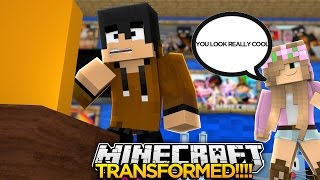 Minecraft TRANSFORMED - DONUT HAS BECOME A HUMAN w/LITTLE KELLY - donut the dog