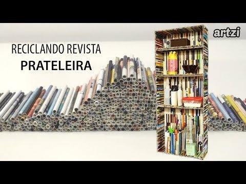 Artesanato com revista :: Prateleira