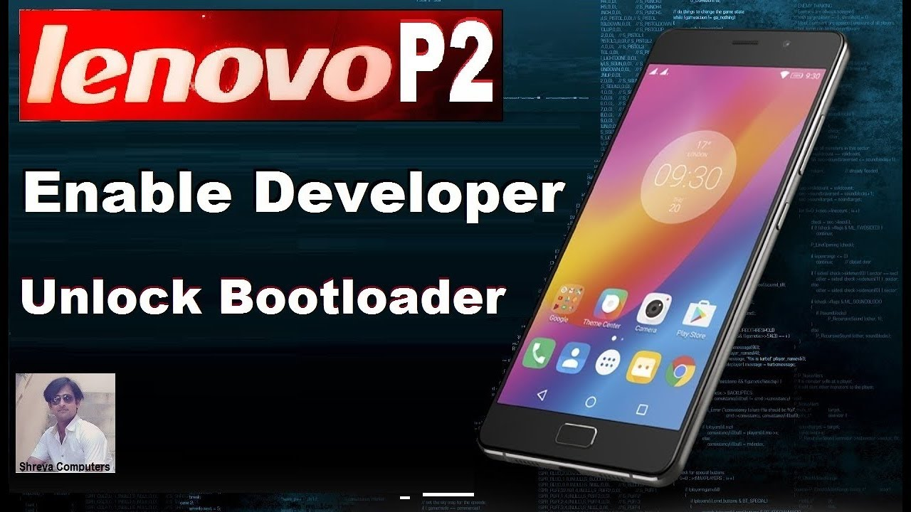 How To Unlock Bootloader In Lenovo P2 (P2a42) In Nougat || Lenovo P2 OEM  Unlocking Tutorial