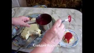 Манный пудинг(Готовим манный пудинг. Соотношение молока и манки 4 - 1 . 4 части молока и 1 часть манки.На дно кастрюли наливае..., 2013-07-23T08:13:57.000Z)