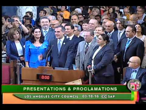 Celebrating Nowruz in LA City Hall - 2016