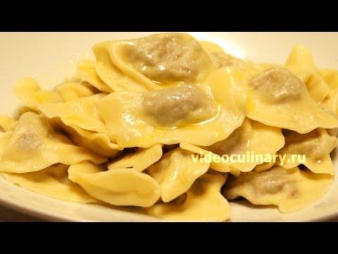Вареники с мясом  - Рецепт Бабушки Эммы