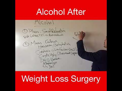 Alcohol Abuse After Weight Loss Surgery