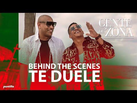Gente de Zona - Te Duele (Behind the Scenes)