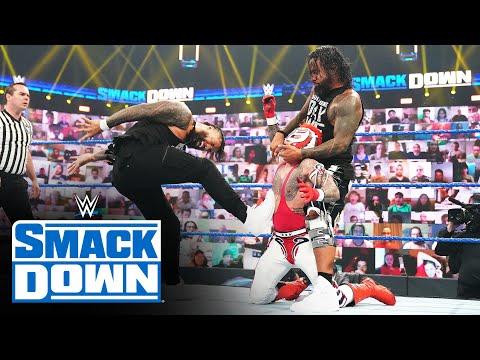 Rey & Dominik Mysterio vs. The Usos – SmackDown Tag Team Title Match: SmackDown, June 4, 2021