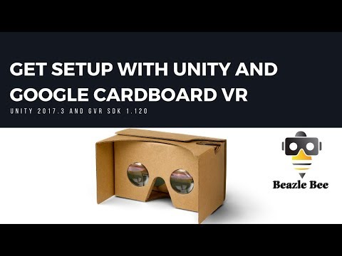 Tutorial: Get Setup For Google Cardboard With Unity