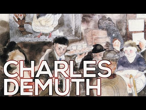 Charles Demuth: A Collection Of 213 Works (HD)