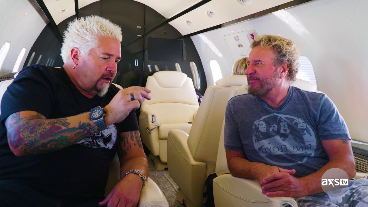 Even With A Private Jet Traveling Is Hard For Guy Fieri Youtube
