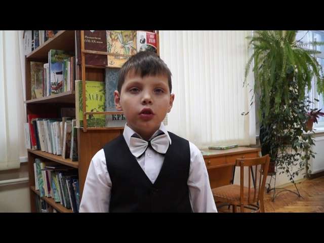 Изображение предпросмотра прочтения – ВоронцовЯрослав читает произведение «Стрекоза и Муравей» И.А.Крылова