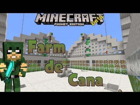Mapa: Farm de Cana ( Minecraft PE v15.0 b3 )