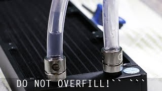 How To Flush Your New Watercooling Radiator [EKWB CoolStream PE]