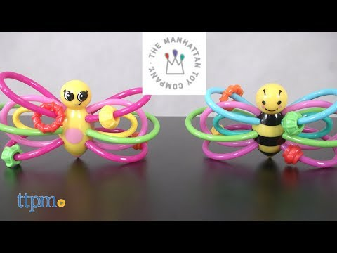 Winkel Butterfly & Bee From The Manhattan Toy Company