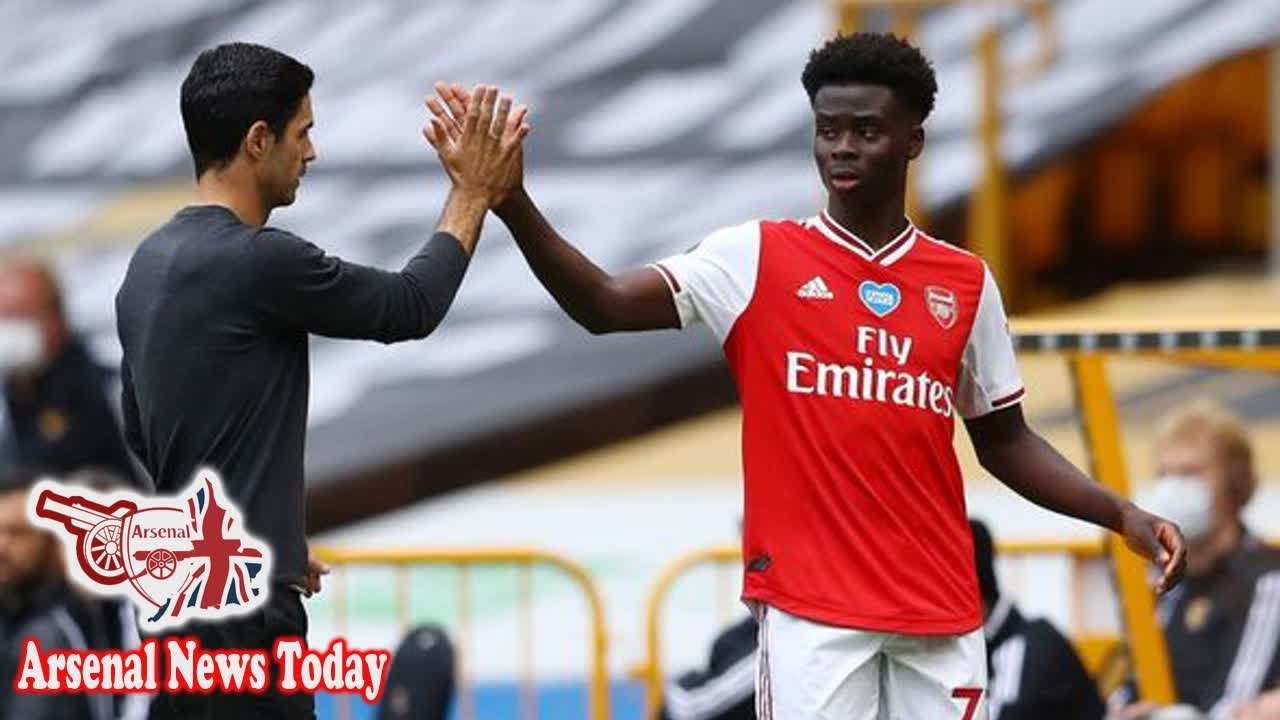 Bukayo Saka sends message to Arsenal boss Mikel Arteta over preferred position - news today