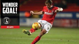 WONDER GOAL: Dale Stephens v Doncaster Rovers - Charlton Athletic