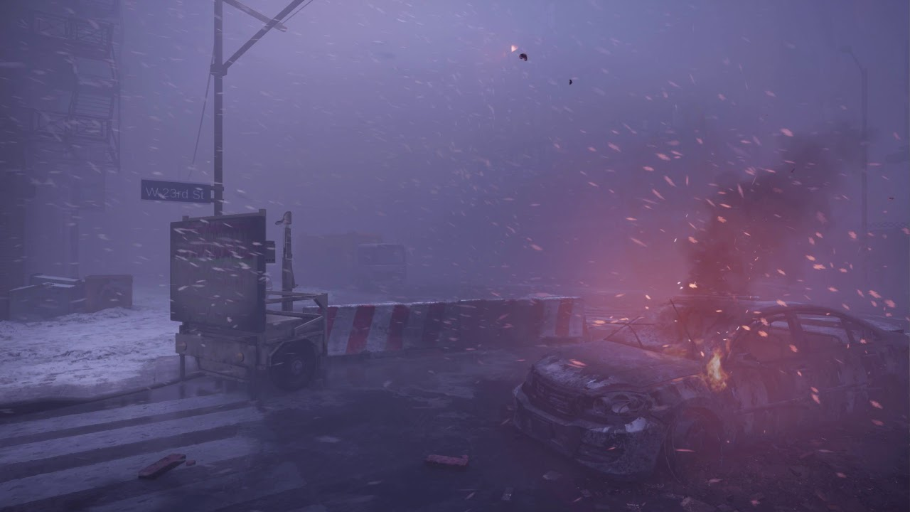 The Division Blizzard 2560*1440p(2k) in Game Live Wallpaper for Wallpaper Engine.