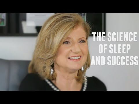 Arianna Huffington on The Science of Sleep and Success with Lewis Howes