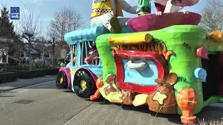 Sprokkelaars carnavalsoptocht in Lemelerveld