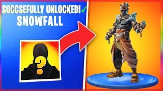 *NEW* SNOWFALL SKIN LEAKED! - Fortnite FREE SEASON 7 SKIN REVEALED! (Snowfall Skin LEANED Early!)