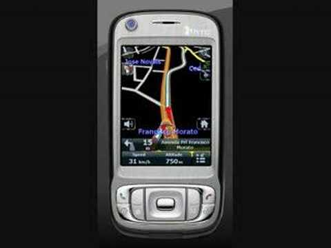 GPS working at a HTC TyTN 2