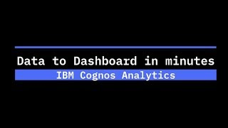 Play Data to Dashboard in Minutes