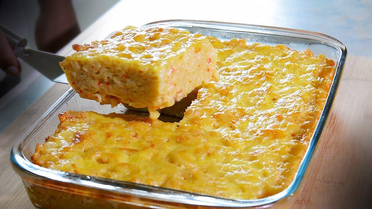 Macaroni Pie Recipe - YouTube
