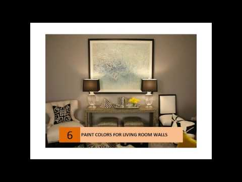 Interesting Paint Colors For Living Room Walls