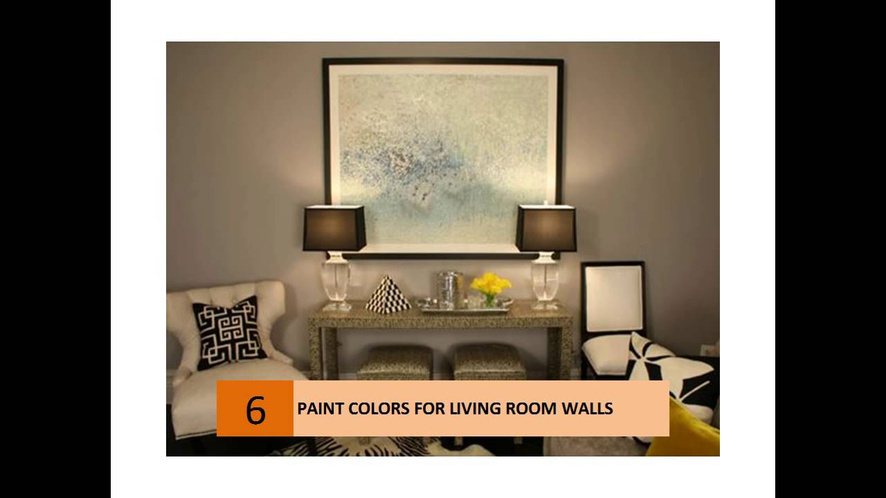 Interesting Paint Colors For Living Room Walls - YouTube