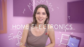 Weekly Russian Words with Katya - Home Electronics