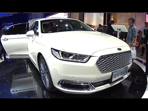 All new 2016, 2017 Ford Taurus launched on the Chinese car market - YouTube