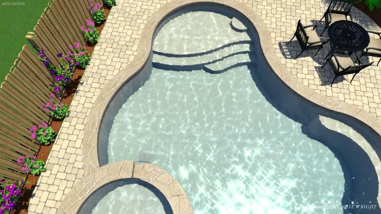 pool studio - 3d swimming pool design software - youtube